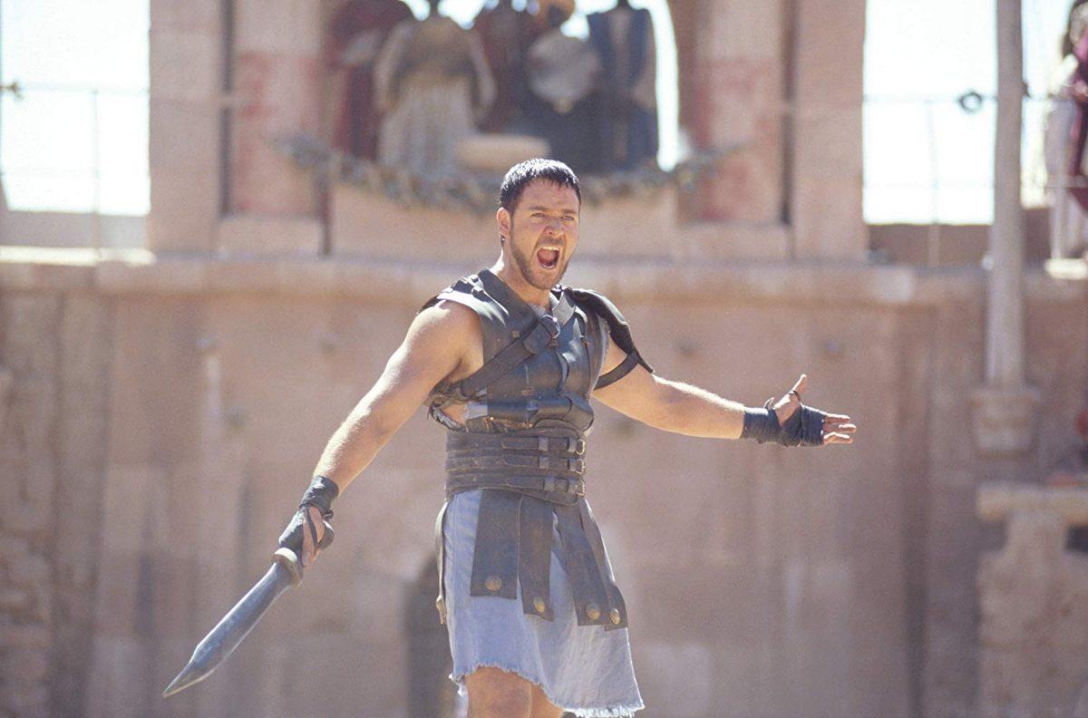 Gladiador (2000) – Levou cinco estatuetas: Melhor Filme, Melhor Ator (Russell Crowe), Melhor Figurino, Melhores Efeitos Visuais e Melhor Edição de Som. - Crédito: Divulgação/33Giga/ND