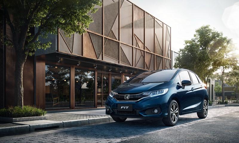 1- Honda Fit Personal 1.5 CVT (2019): Desvalorização: - 1,78%; Preço sugerido: R$ 68.700 - Foto: Divulgação - Foto: Divulgação/Garagem 360/ND
