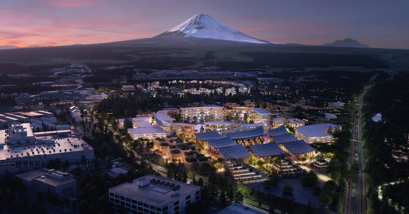 Toyota vai construir cidade inteligente na base do Monte Fuji, no Japão - Foto: Divulgação