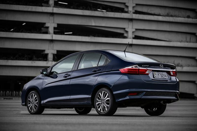 2- Honda City Personal 1.5 CVT (2019): Desvalorização: -3,12%; Preço sugerido: R$ 68.700 - Foto: Divulgação - Foto: Divulgação/Garagem 360/ND
