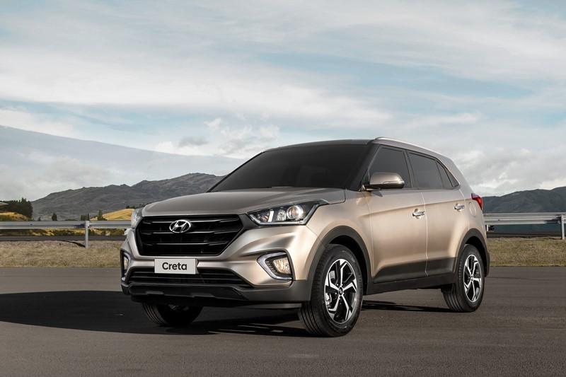 3º- Hyundai Creta: 57.460 unidades - Foto: Divulgação - Foto: Divulgação/Garagem 360/ND