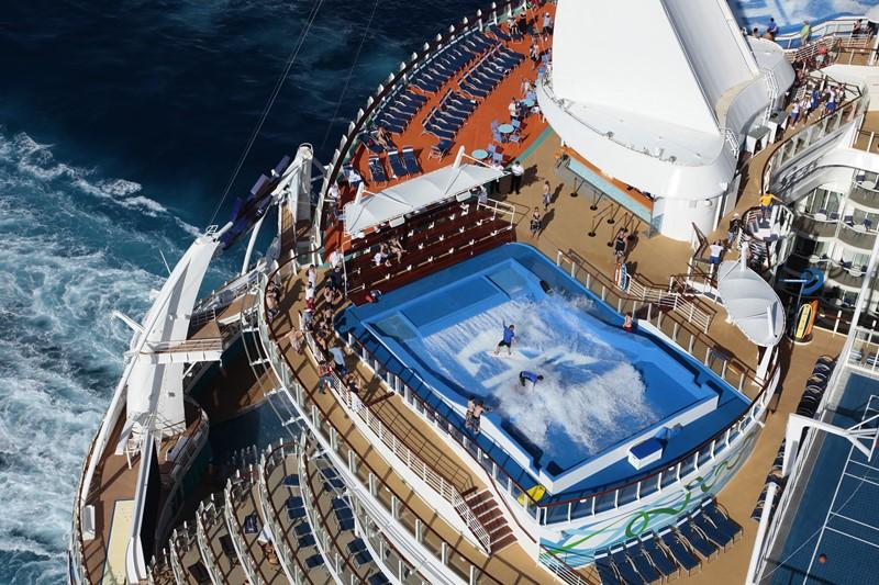 Royal Caribbean Allure of the Seas (2010): 225.282 toneladas, 362 metros de comprimento e 72 metros de altura - Divulgação - Divulgação/Rota de Férias/ND