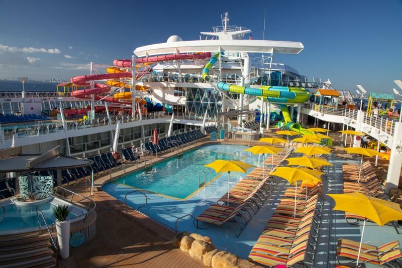 Royal Caribbean Oasis of the Seas (2009): 225.282 toneladas, 361,6 metros de comprimento e 72 metros de altura - Divulgação - Divulgação /Rota de Férias/ND