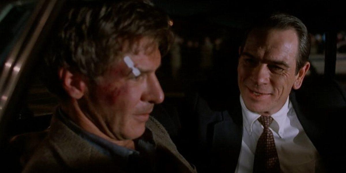 O Fugitivo (1993) – Ganhou na categoria Melhor Ator Coadjuvante (Tommy Lee Jones). - Crédito: Divulgação /33Giga/ND