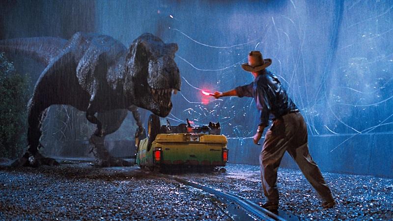 Jurassic Park: O Parque dos Dinossauros (1993) – Levou três estatuetas: Melhores Efeitos Especiais, Melhor Som e Melhor Edição de Som. - Crédito: Divulgação/33Giga/ND