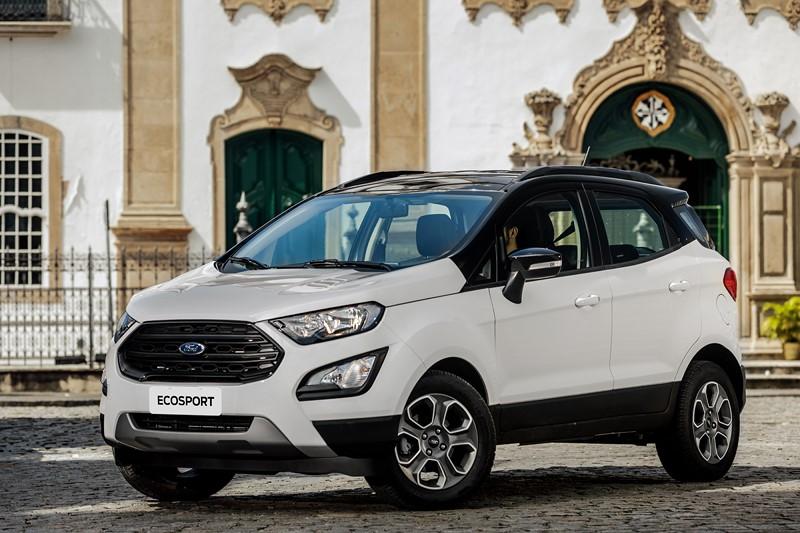 7º- Ford EcoSport: 34.205 unidades - Foto: Divulgação - Foto: Divulgação/Garagem 360/ND