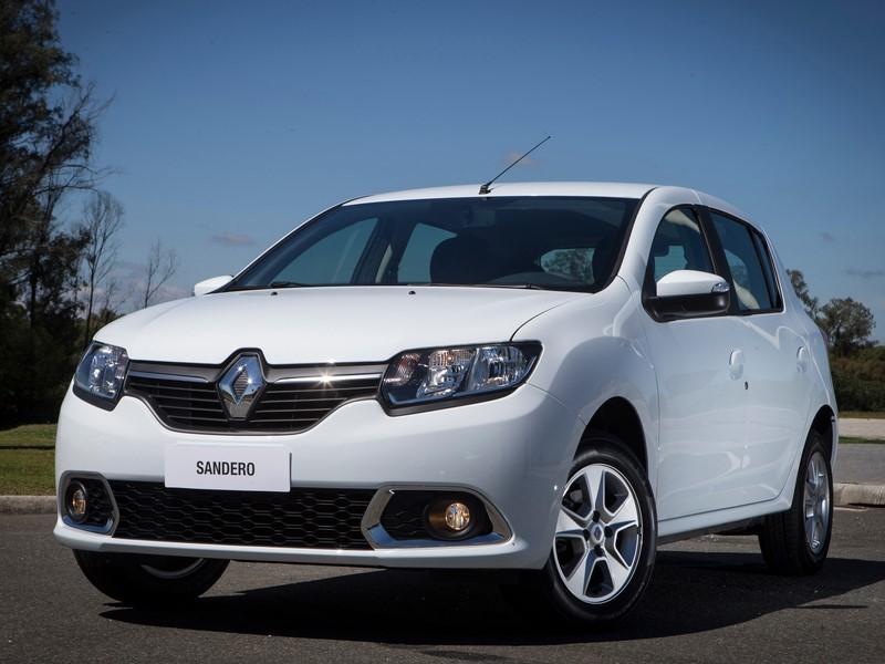 7- Renault Sandero Expression EasyR (2018): Desvalorização: -4,39%; Preço sugerido: R$ 56.700 - Foto: Divulgação - Foto: Divulgação/Garagem 360/ND