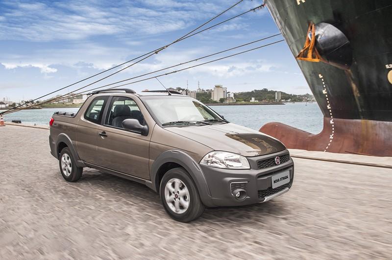 7- Fiat Strada: 76.223 unidades - Foto: Divulgação - Foto: Divulgação/Garagem 360/ND