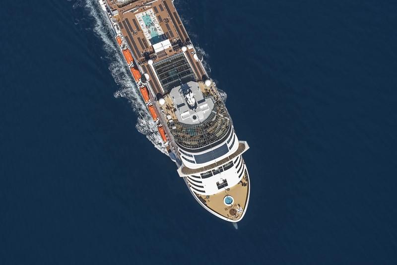 MSC Bellissima (2019): 171.598 toneladas, 315 metros de comprimento e 69 metros de altura - Divulgação - Divulgação/Rota de Férias/ND