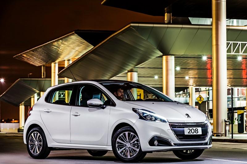 8- Peugeot 208 Allure (2019): Desvalorização: -4,41%; Preço sugerido: R$ 64.690 - Foto: Divulgação - Foto: Divulgação/Garagem 360/ND