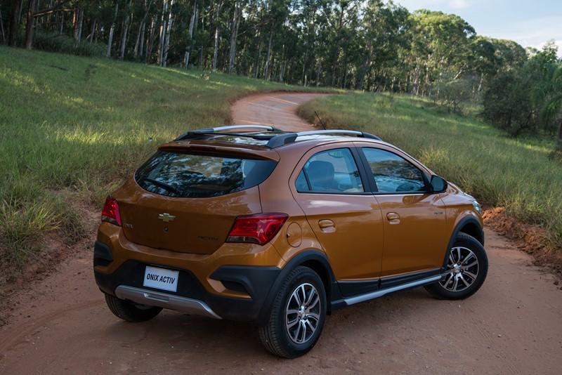 9- Chevrolet Onix Activ (2019): Desvalorização: -4,70%; Preço sugerido: R$ 67.690 - Foto: Divulgação - Foto: Divulgação/Garagem 360/ND
