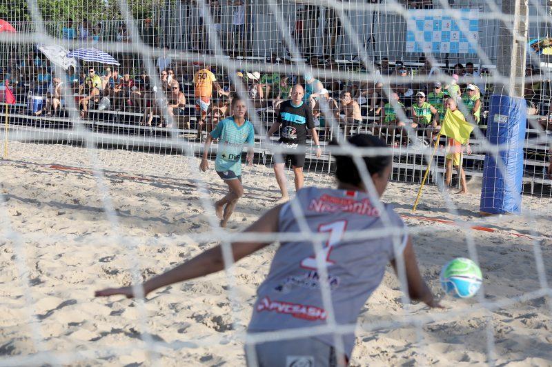 Taça NDTV de Beach Soccer é um dos principais torneios da modalidade no país – Foto: André Kosph/Divulgação