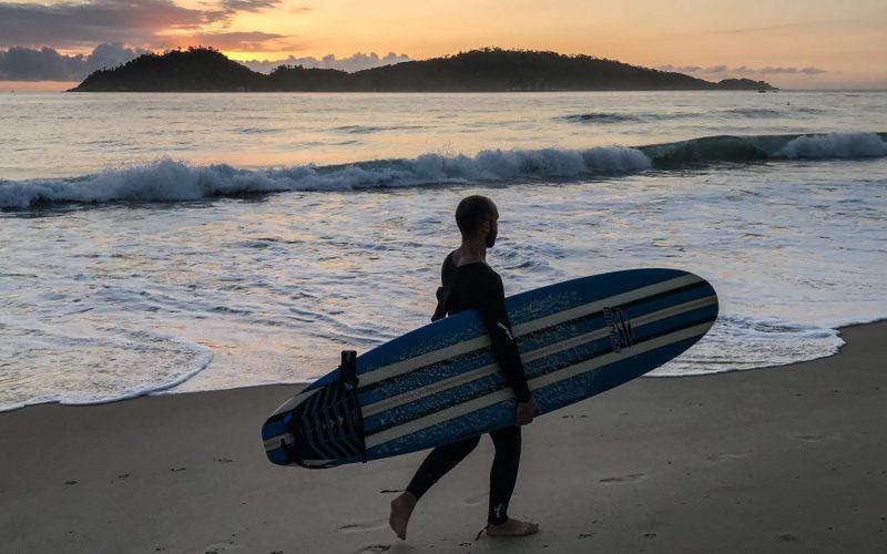 Lomba do Sabão, Rua das Corujas e Servidão do Mar Grosso dão acesso à praia na localidade de Areias do Campeche - Anderson Coelho/ND