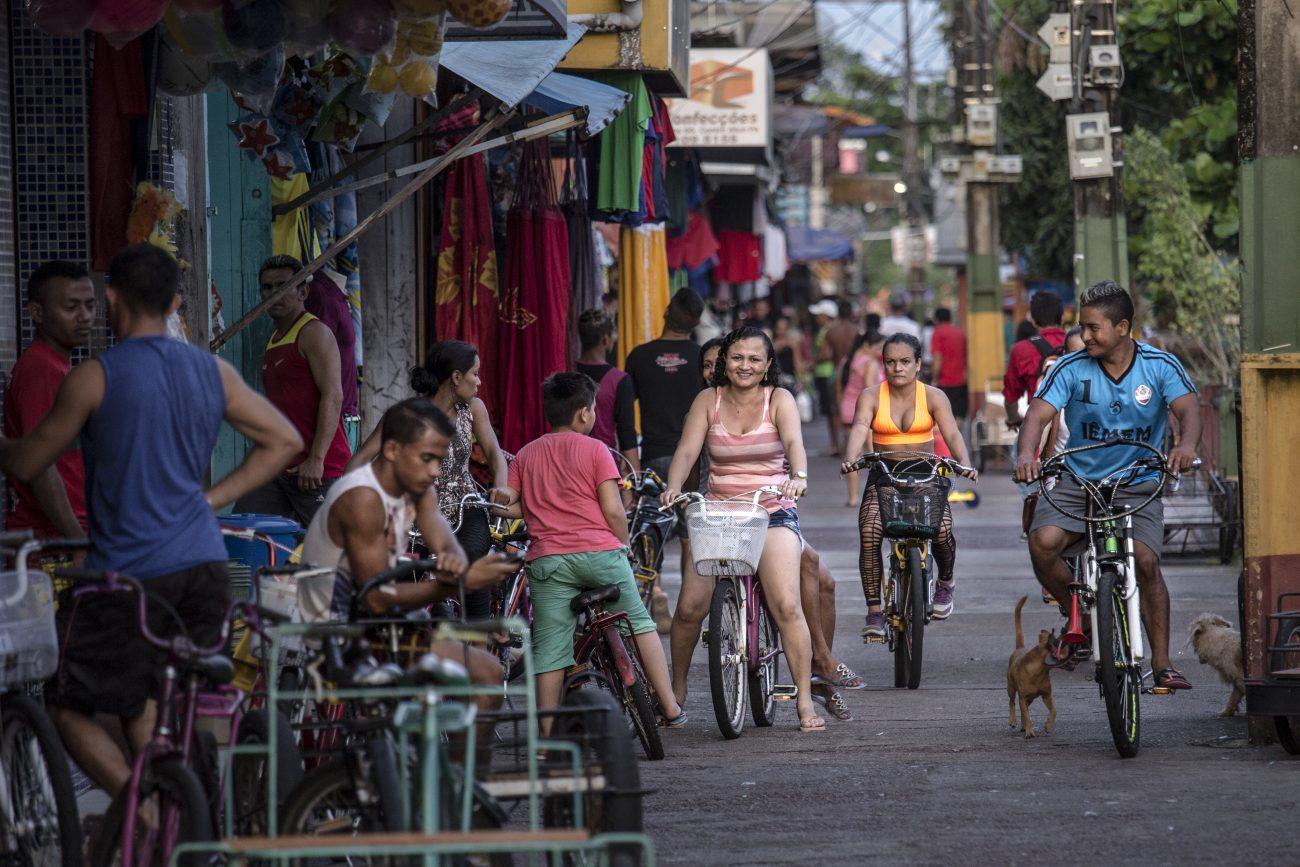 É a busca de uma cidade imagética e mítica no Arquipélago do Marajó. - Anderson Coelho/ND