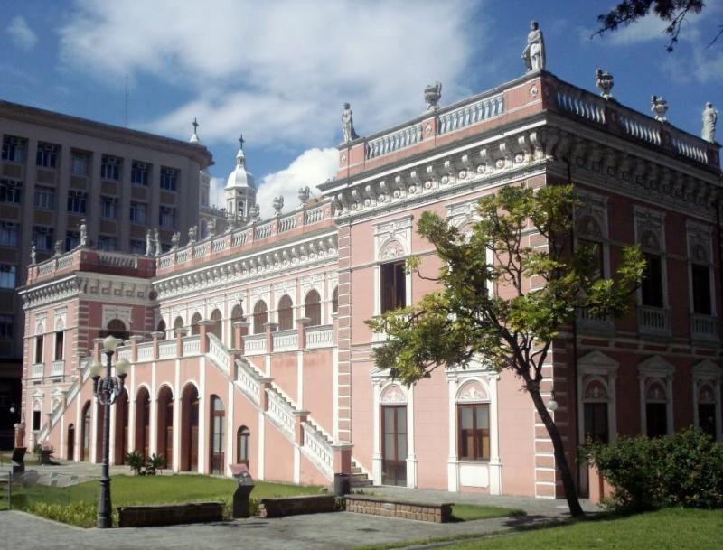 Palácio Cruz e Souza, no Centro de Florianópolis, segue fechado – Foto: Divulgação/Prefeitura de Florianópolis