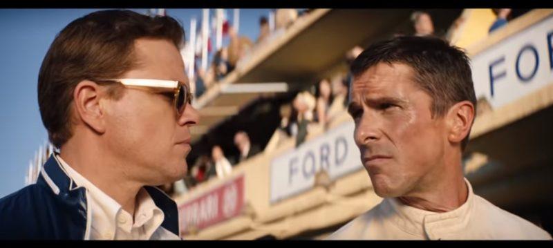 Ford vs Ferrari: O filme, com direção de James Mangold, se passa na década de 1960, quando a Ford resolve entrar no ramo das corridas para ganhar o prestígio e o glamour da concorrente Ferrari, líder isolada em várias corridas. - Foto: Reprodução/Redes Sociais/ND