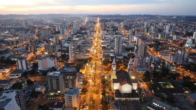 O município passou a aderir o decreto estadual – Foto: Prefeitura Municipal de Chapecó/Divulgação/ND