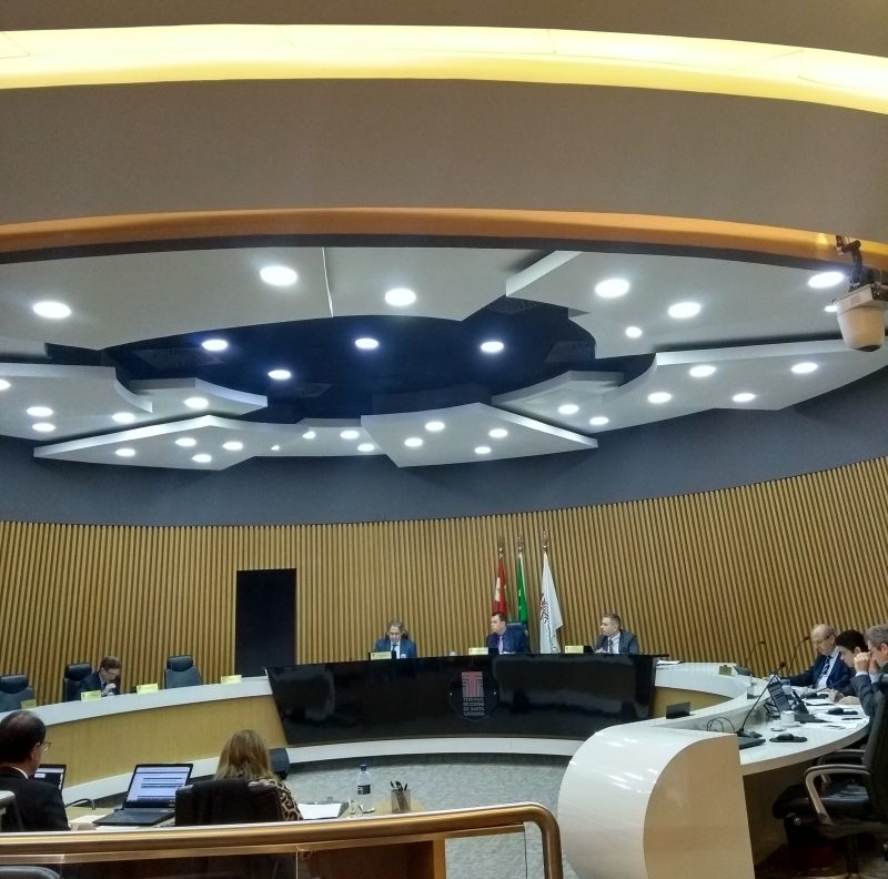 Sessão do plano do TCESC