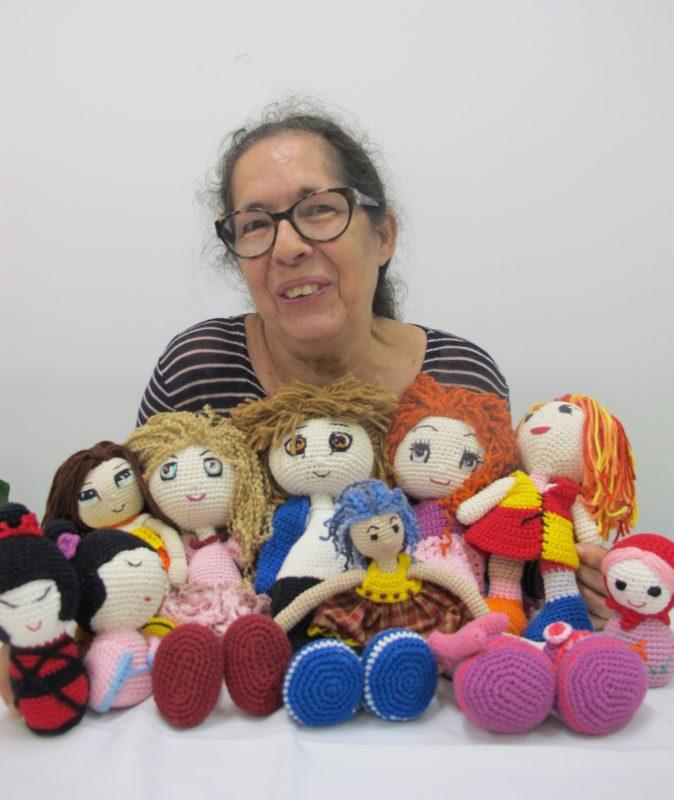 As delicadas bonecas criadas por Maria Augusta Pereira – Foto: Divulgação/ND