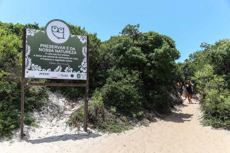 Novo Campeche marca o 'final' da praia do Campeche - Anderson Coelho/ND