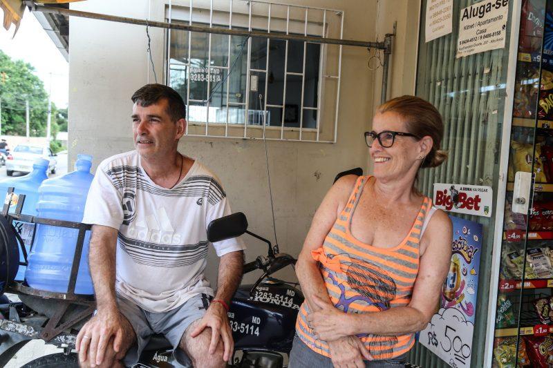 Luiz Carlos e Janete Silva não acreditam na conclusão para 2022 – Foto: Anderson Coelho/ND