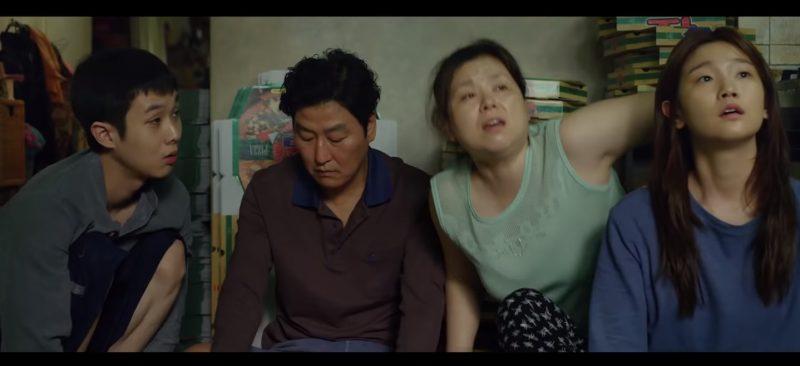 """""""Parasita"""", de Bon Joon Ho. Praticamente certo como Melhor Filme de Língua Estrangeira, o longa-metragem sul-coreano liderou várias listas de melhores de 2019 e ganhou a Palma de Ouro em Cannes, sendo efetivamente a ameaça mais forte a """"1917"""". Com seis indicações, incluindo de Melhor Diretor, deve fazer história nessa edição do Oscar. - Foto: Reprodução/Redes Sociais/ND"""