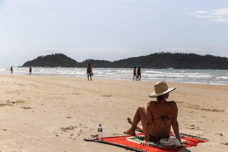 Ponto 10 é considerado o melhor local para banhistas, segundo guada-vidas - Anderson Coelho/ND