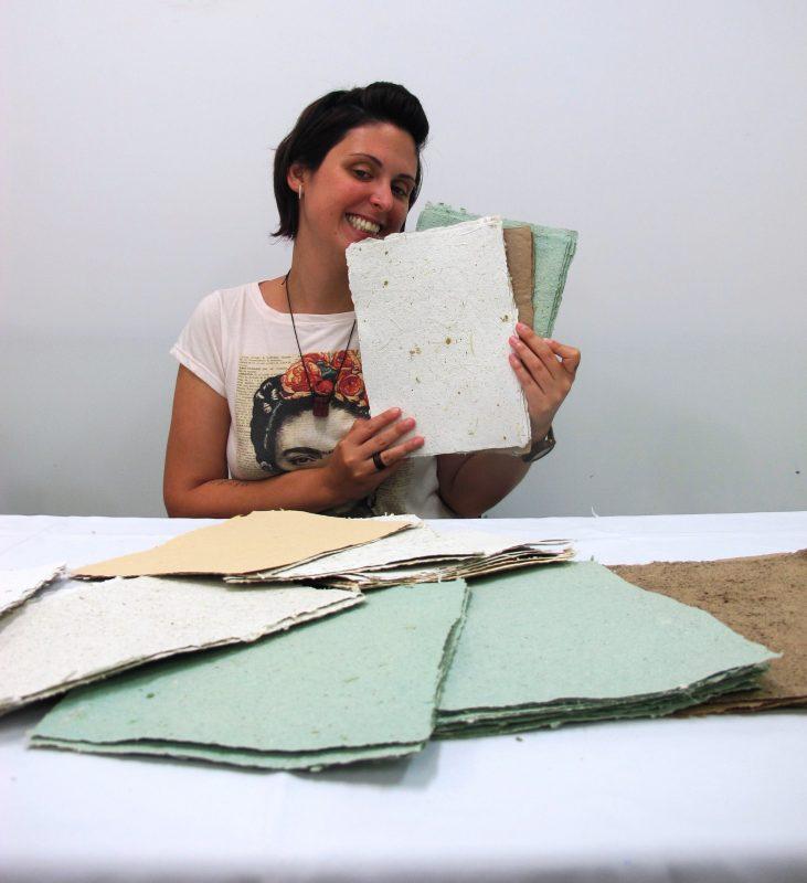 Simone criou a Ecofrida durante o projeto – Foto: Divulgação/ND