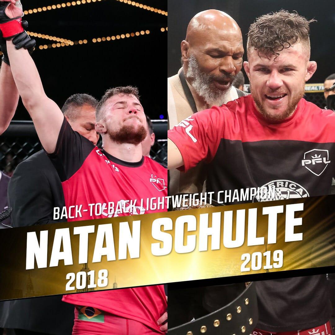 Esta é a segunda vez que o atleta fica no topo mundial do MMA e fatura US$ 1 milhão - Arquivo pessoal/divulgação/ND
