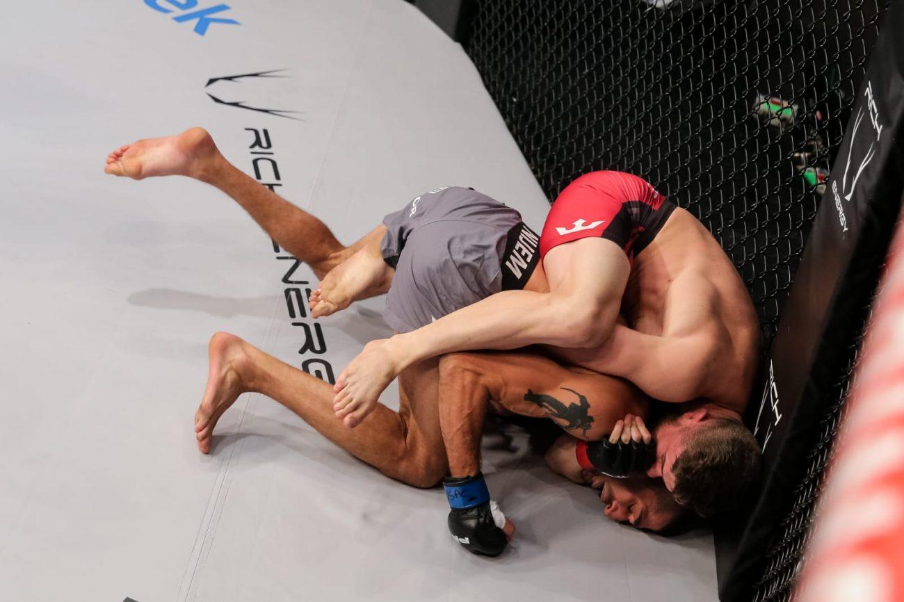 Natan enfrentou e derrotou o norte-americano Ramsey Nijem, na terceira luta - Arquivo pessoal/divulgação/ND