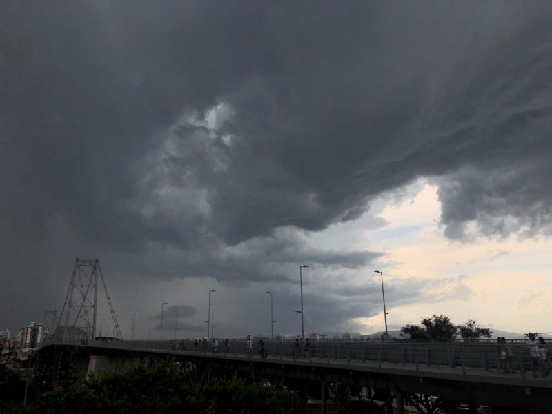 Florianópolis registra acumulado de 137 mm de chuva nos últimos três dias- Foto: Flavio Tin/Arquivo/ND