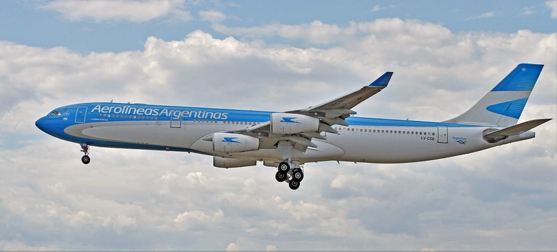 Aerolineas Argentinas - vic_206 on VisualHunt / CC BY-NC-ND - vic_206 on VisualHunt / CC BY-NC-ND/Rota de Férias/ND