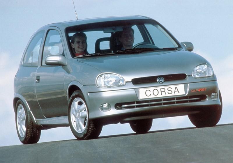 Chevrolet Corsa GSI (na foto, um Opel Corsa) - Foto: Divulgação - Foto: Divulgação/Garagem 360/ND