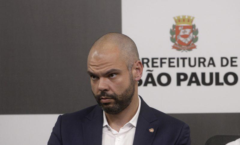 Durante a internação, Bruno Covas está liberado para exercer funções administrativas da prefeitura– Foto: Leon Rodrigues/Divulgação/ND