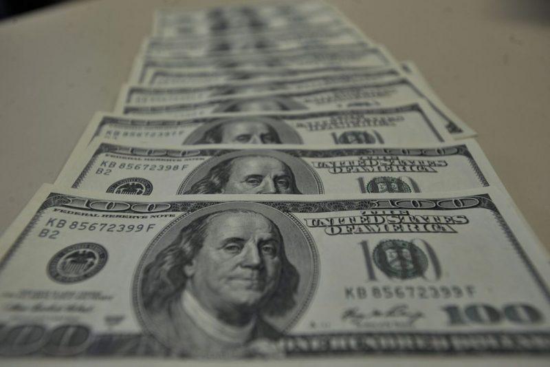 Dólar fecha em R$ 5,59, com queda de 0,22% – Foto: Marcello Casal Jr./Agência Brasil/ND
