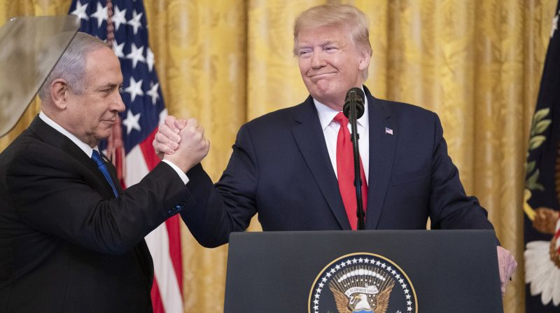 Presidente Trump divulga um plano para um acordo abrangente de paz entre Israel e os palestinos – Foto: Shealah Craighead/Fotos Públicas/Divulgação/ND
