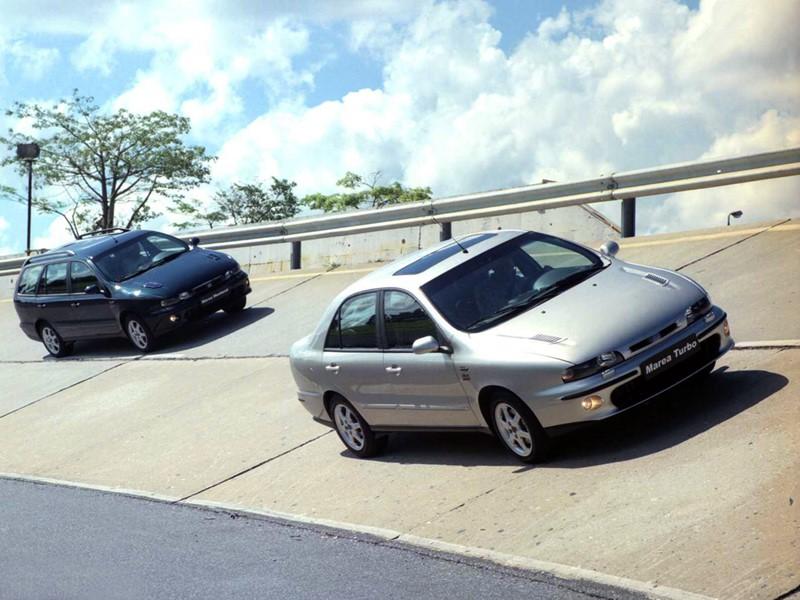 Fiat Marea Turbo - Foto: Divulgação - Foto: Divulgação/Garagem 360/ND