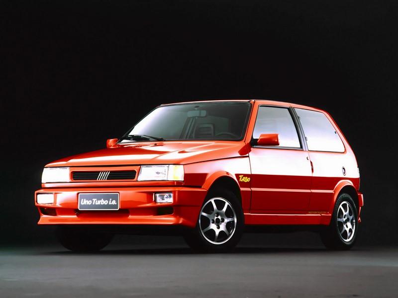 Fiat Uno Turbo - Foto: Divulgação - Foto: Divulgação/Garagem 360/ND