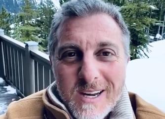 Luciano Huck postou vídeo na sua rede social diretamente de Davos – Foto: Reprodução/Instagram/ND