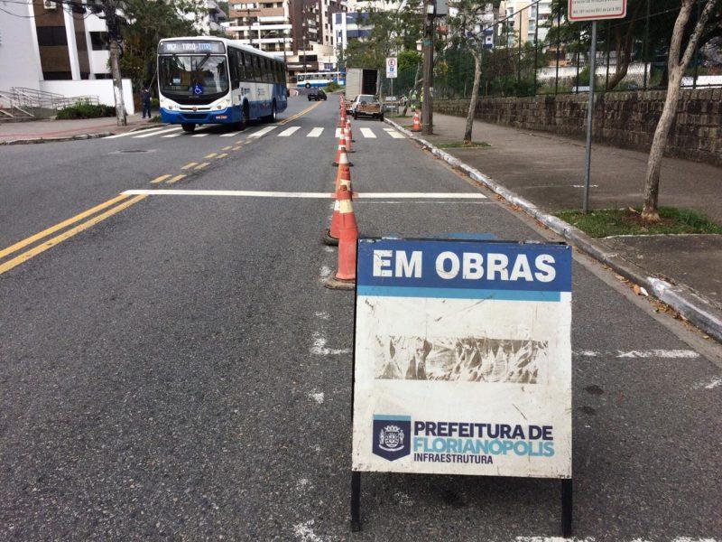 Obras de revitalização na avenida Madre Benvenuta começaram nesta segunda-feira (20) na Capital – PMF/Divulgação/ND