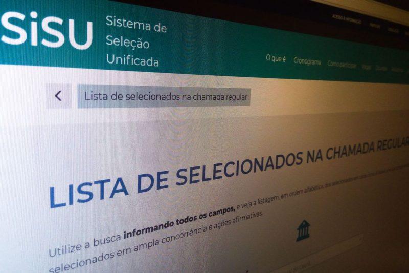 resultado do Sisu, educação. MEC – Foto: Agência Brasil/ND