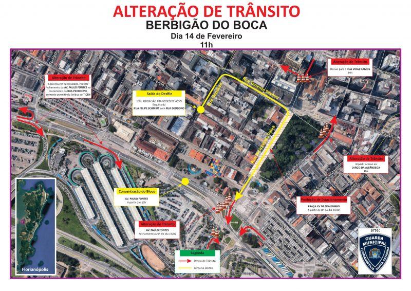 Mesmo com as alterações, ônibus irão ter acesso ao Ticen – Foto: GMF/Divulgação/ND