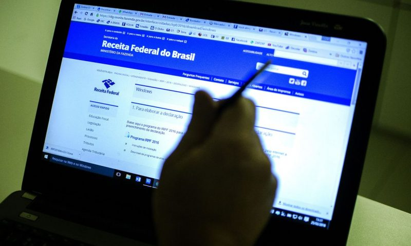 computador no site da receita federal