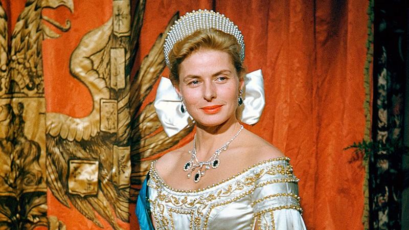 1957 – Ingrid Bergman (Anastácia, a Princesa Esquecida) - Crédito: Divulgação/33Giga/ND