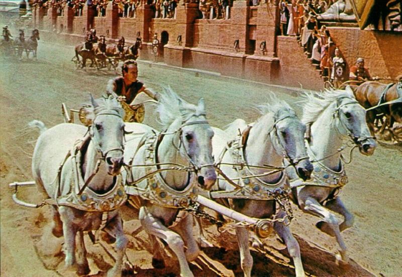 1960 – Charlton Heston (Ben-Hur) - Crédito: Divulgação/33Giga/ND