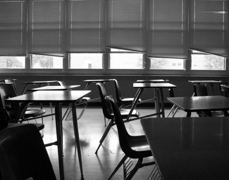 Sala de aula vazia – Foto: Max Klingensmith/Flickr/ND