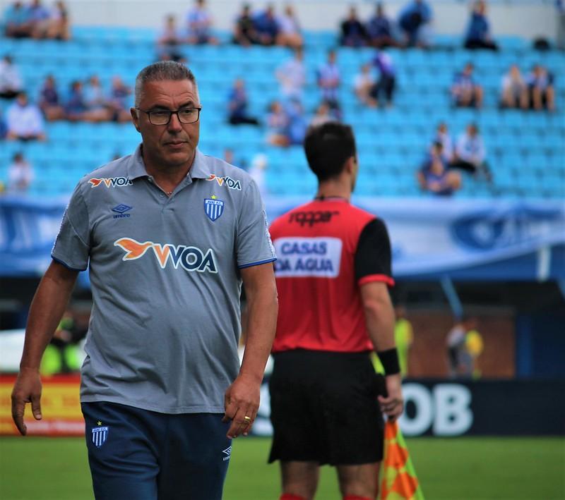 Menos de 48h depois da eliminação, português Augusto Inácio foi desligado do Avaí depois de sete jogos e duas vitórias. - André Palma Ribeiro/Avaí FC