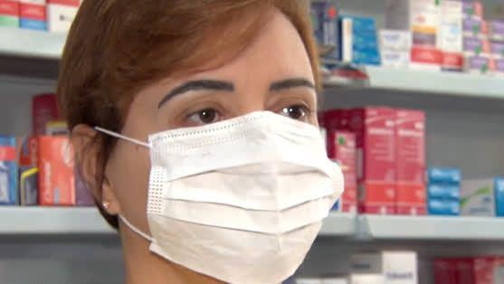 Preço de máscaras cirúrgicas aumentou 515% em menos de um mês – Foto: Reprodução/R7