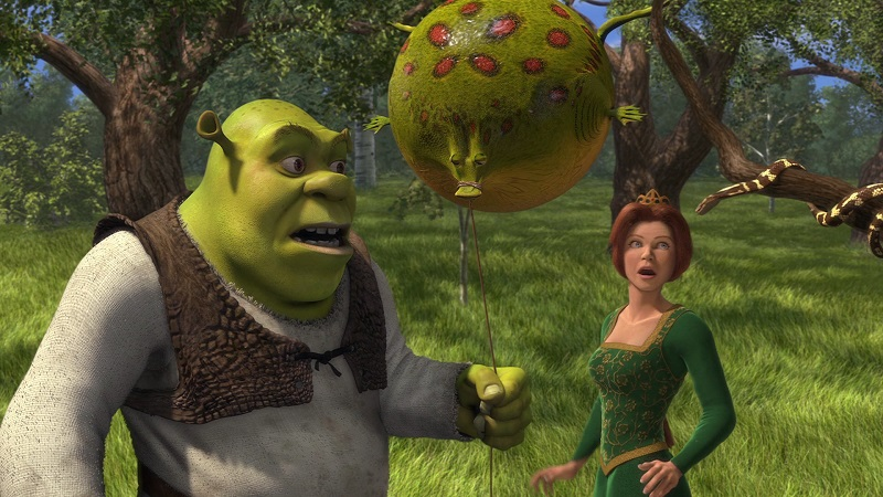 Shrek (2001) - Crédito: Divulgação/33Giga/ND