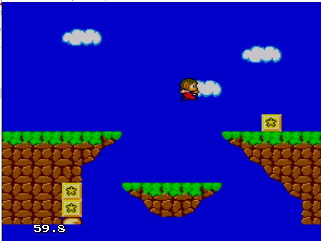 Alex Kidd, clássico game do Sega Master System, foi durante muitos anos o principal mascote da marca, até a chegada de um certo ouriço azul. - Crédito: Reprodução/33Giga/ND